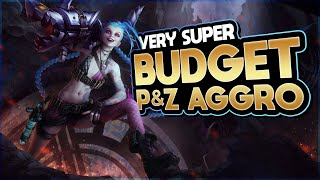 This BUDGET Aggro Deck Is SUPER STRONG | Legends of Runeterra | League of Legends Card Game