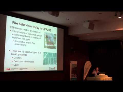 Mike Wotton (CFS) - Fire behaviour: next gen Canadian Forest Fire Danger Rating System