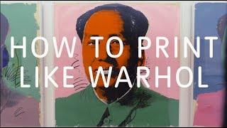 How to Print Like Warhol | Tate