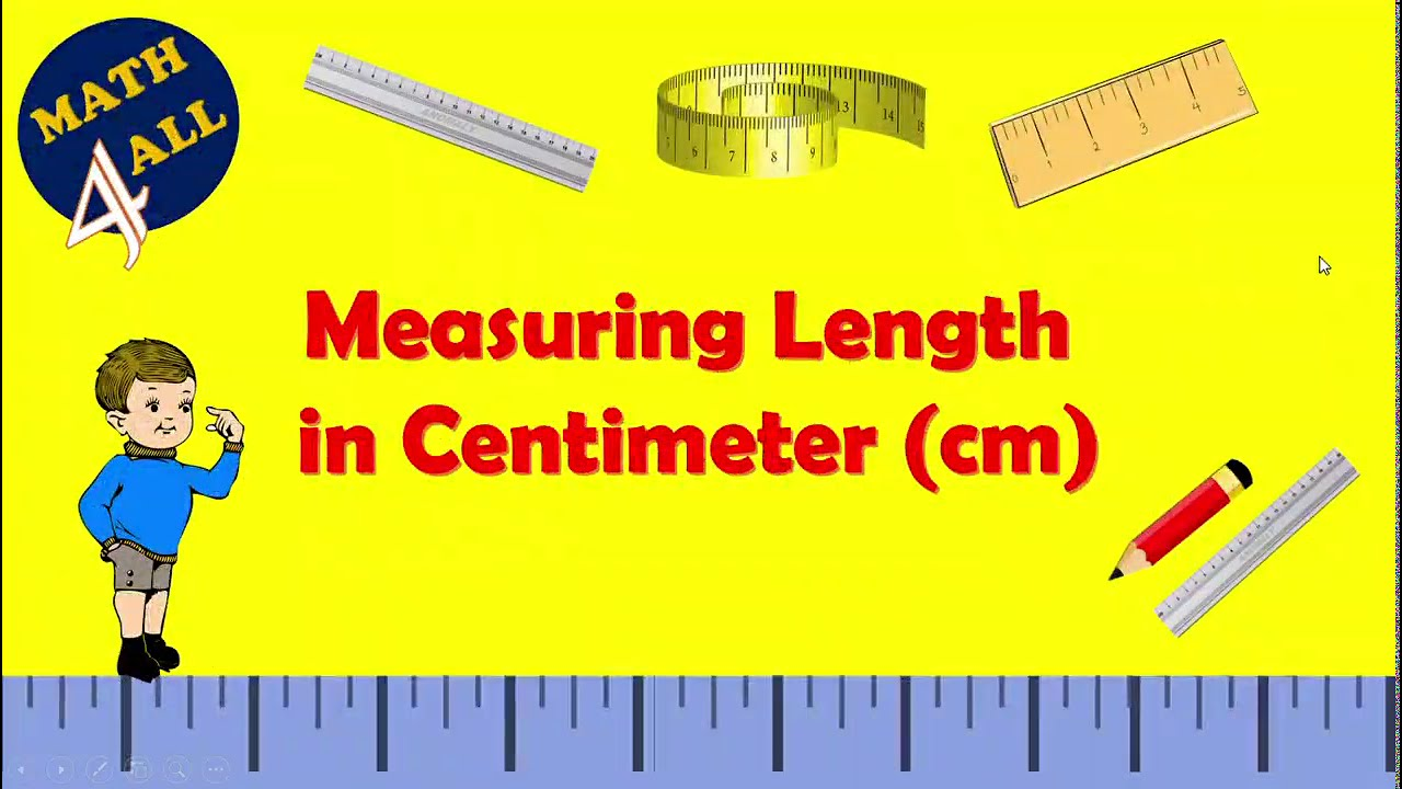 Download Measuring Length in Centimeters Using Ruler - Math 4 all