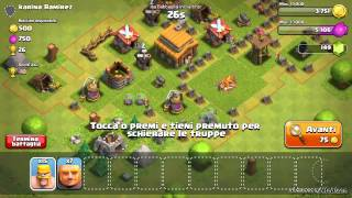 "Clash of clans ep.1 ""In cerca di un clan"""