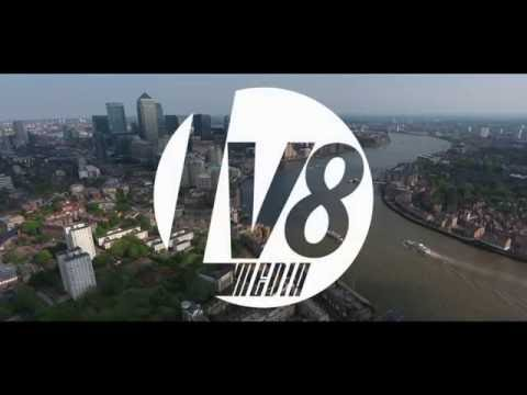 LV8 Media - Canary Wharf (London) [The Isley Brothers - Summer Breeze] [Drone Film] [4K]