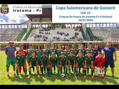 Copa Internacional de Goioerê Sub 14 / Craques do Futuro 0 x 0 Goioerê