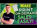 HOW TO FIT PRINT ON DEMAND INTO YOUR DROPSHIPPING BUSINESS | SHOPIFY CLICKFUNNELS