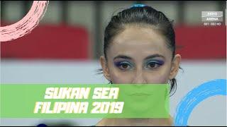 Emas Farah Ann | Gimnastik Senaman Lantai | Sukan Sea 2019 | Astro Arena