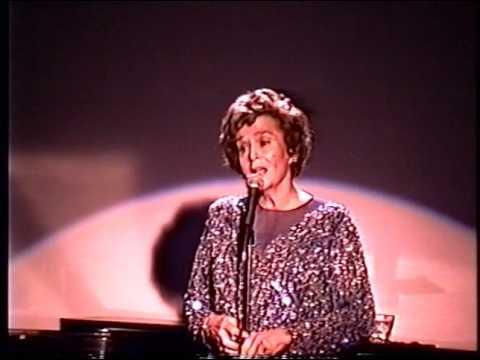 Jo Ann Greer--Voice of Rita Hayworth, Rare 1991 Club Appearance