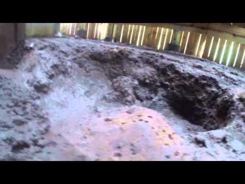 Under Pool Deck Water Erosion Damage Youtube