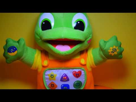 LEAPFROG HUG & LEARN BABY TAD PLUSH SINGS LULLABY SONGS FOR KIDS