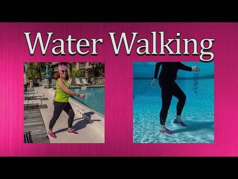 Water Walking Exercises