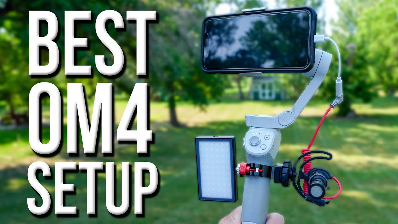 This Makes the DJI OM4 Smartphone Gimbal Perfect!