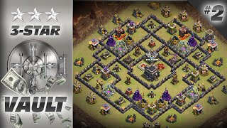 """3-Star Vault #2: How to Beat Popular TH9 Base (Variant of """"The General"""")"""
