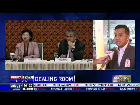 Dealing Room Mandiri: Penutupan Nilai Tukar Rupiah Terhadap Dollar AS Di Rp 14.060