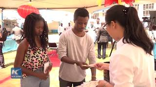 Confucius Institute attracts many students at open day