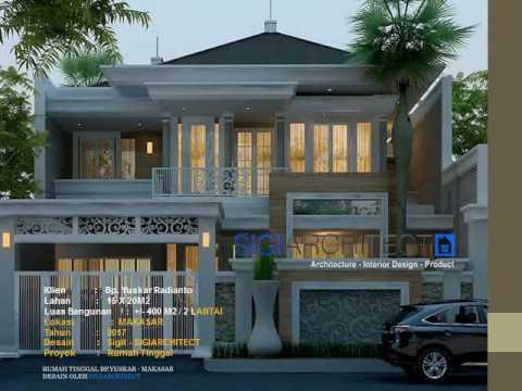 jasa arsitek desain rumah villa sigiarchitect studio - youtube