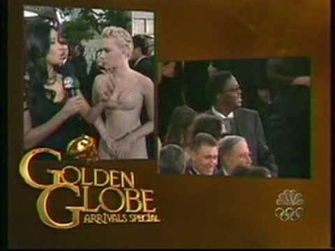 Scarlett Johansson Golden Globes 2004 Red Carpet