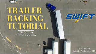 Trailer Backing Tutorial bỳ Swift Academy