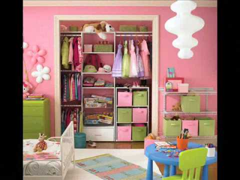kids girls bedroom ideas - YouTube