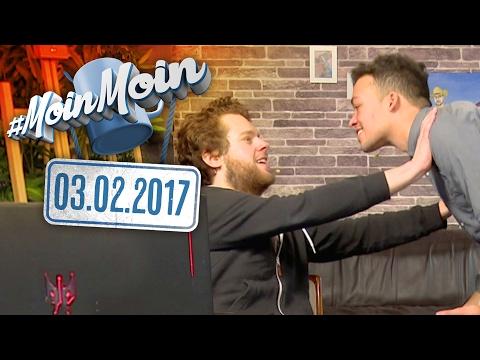 #MoinMoin mit Florentin Will & Aurel Mertz | Sauna, Bumsbus, Fernsehpreis, Boomarama | 03.02.2017