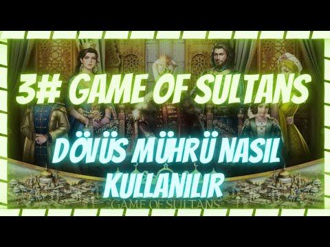 """Game of sultans DÖVÜŞ MÜHRÜ NASIL KULLANILIR """"Muhteşem sultan"""""""