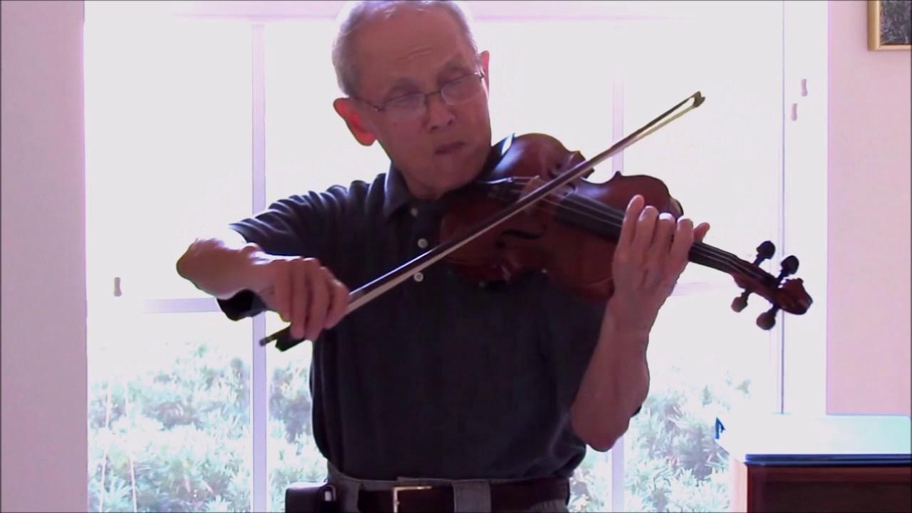 Stephen Foster Jeanie With The Light Brown Hair Violin Unaccompanied Munemori Youtube