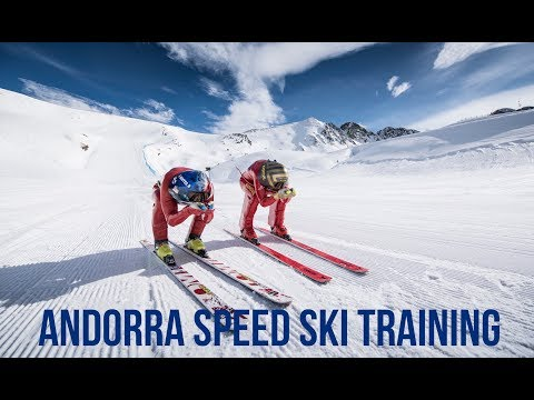 How we train to Ski over 200kph in Andorra 2018