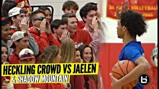 Jaelen House & Shadow Mountain RESPONDS to Heckling Crowd & SNAP OFF On Em!