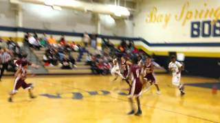 Bay Springs Middle vs Central Middle School