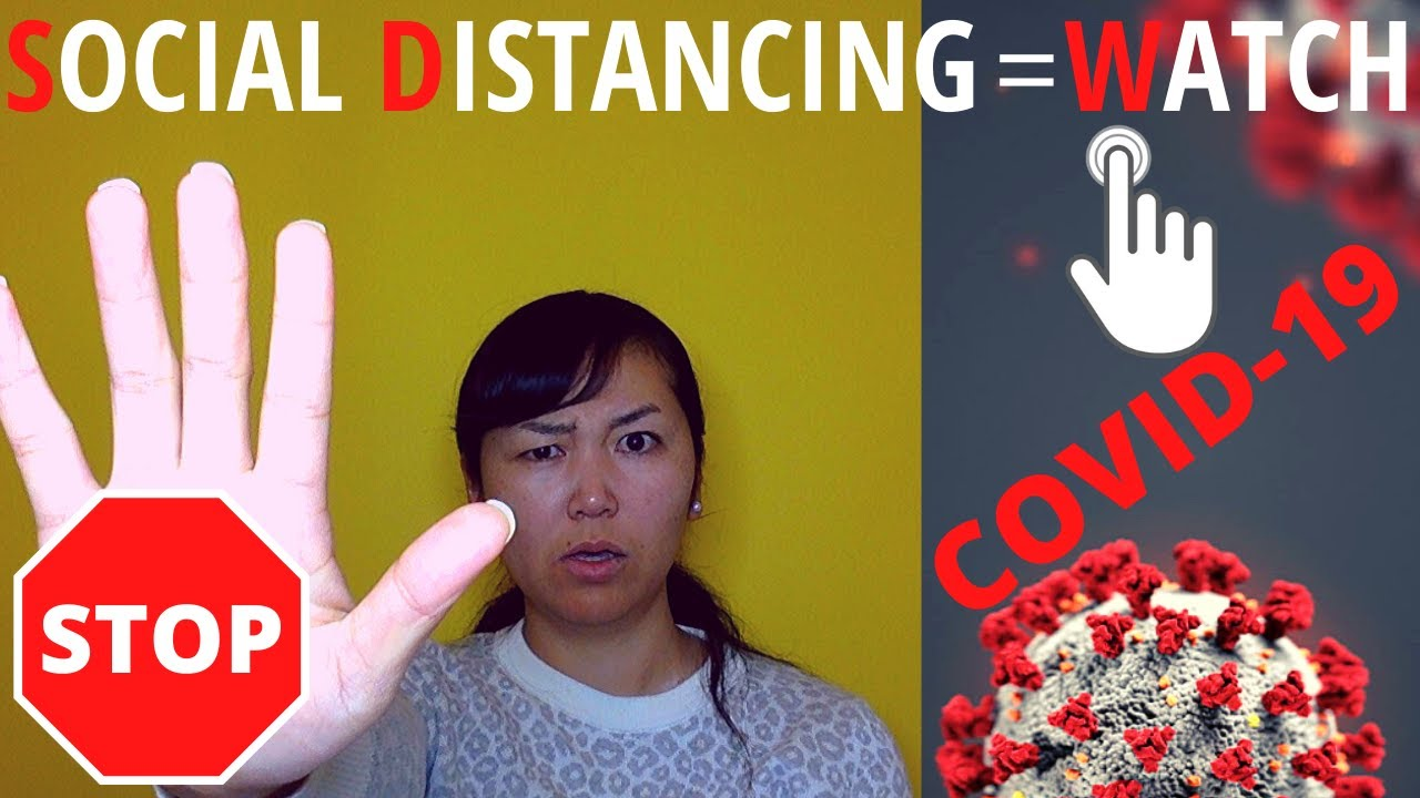 What is social distancing? - Watch & Learn!