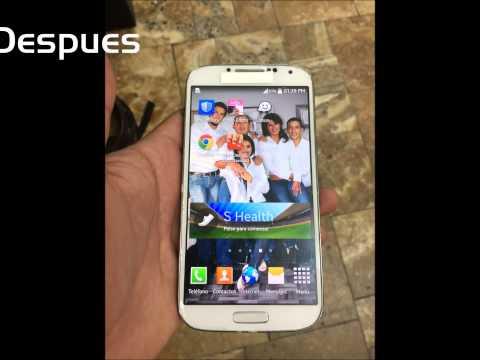 Techno S-Mart Ecuador cambio de glass Samsung Galaxy s4