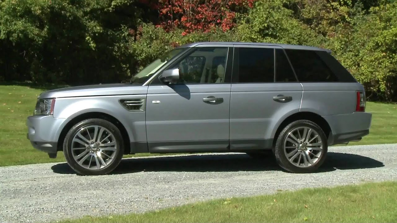New Range Rover Sport HSE 2010 General views HD