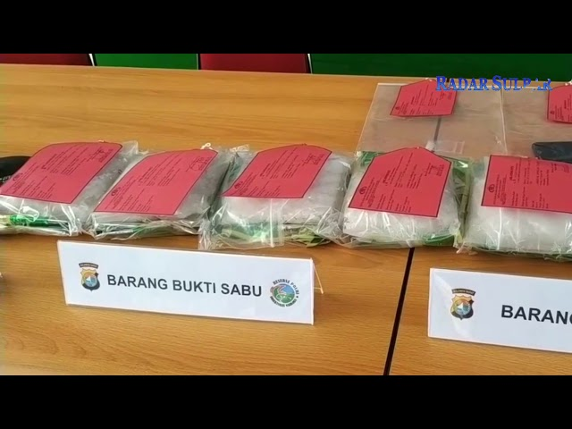 Amankan 5 Kg Sabu, Polda Sulbar Kejar 5 DPO