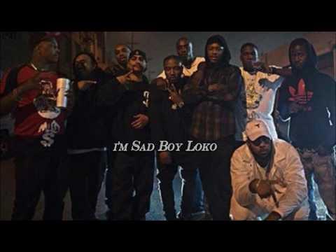 YG - Blacks & Browns ft. Sad Boy Loko (Lyrics) (Prod. By P-Lo)