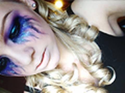 Halloween Tutorial #1 - Heatherette 24 Hour Party People Inspired.