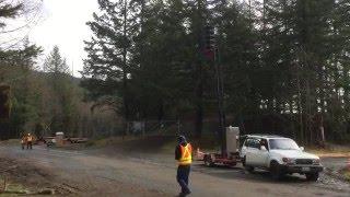 Cedar Falls Masonry Dam Warning Siren Project -- Siren Sounds Off