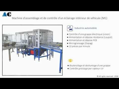 AC Automation (automobile) Assemblage et contrôle éclairage de véhicule.