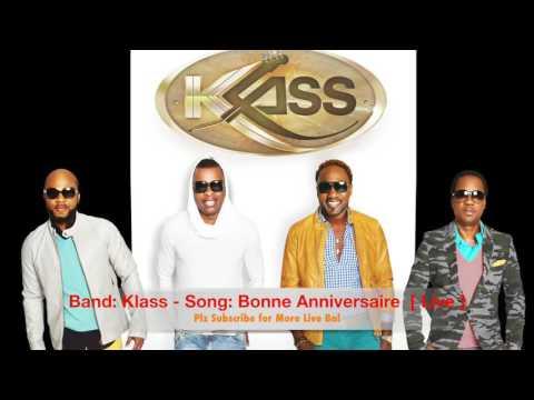Klass - Bonne Anniversaire  Live Bal Audio @ New Jersey 02:12:16