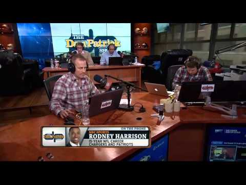 Rodney Harrison on The Dan Patrick Show (Full Interview) 11/07/2014