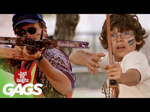 Crazy Archery Pranks | Best of Just For Laughs Gags