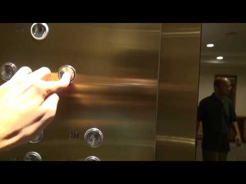 OTIS Elevator at Grand Copthorne Waterfront Hotel, Singapore Part 1