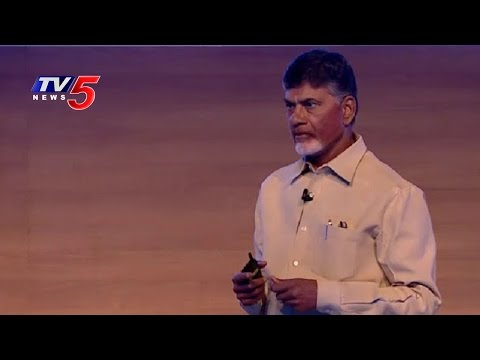 Microsoft's Satya Nadella, AP CM Chandrababu Naidu Share a Vision for Digital India | TV5 News