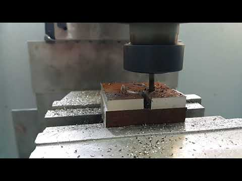 DIY cnc milling machine. Heavy metal milling.
