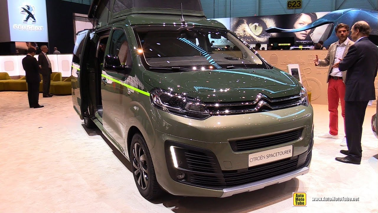 2018 citroen c4 spacetourer exterior and interior. Black Bedroom Furniture Sets. Home Design Ideas