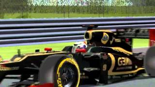 [F1C 99-02] Lotus-Renault E20 @ Montreal (Kimi Räikkonen - mod F1 SMT 2012) [HD]