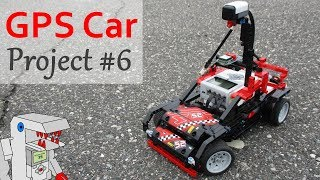 GPS Car - Project #6 from Building Smart LEGO MINDSTORMS EV3 Robots