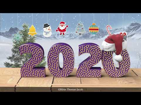 Happy New Year 2020- Merry Christmas & Happy New Year 2020