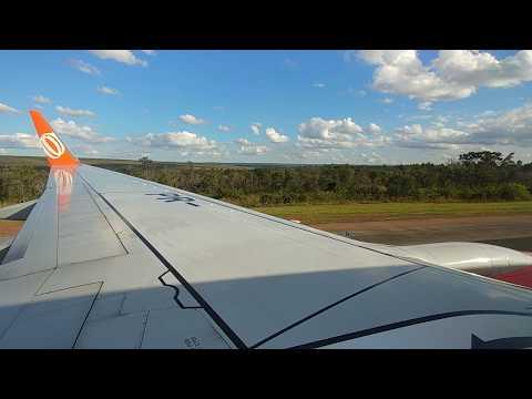 Pouso em Brasilia - JK (BSB/SBBR) no Boeing 737-800 da Gol