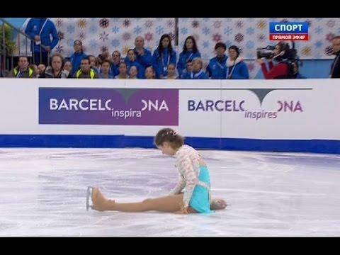 Julia Lipnitskaia Free Skating I GP Barcelona Final 2014 / Липницкая - Барселона. Произвольная