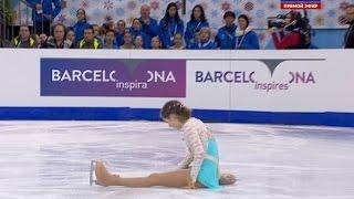Скачать Julia Lipnitskaia Free Skating I GP Barcelona Final 2014 Липницкая Барселона Произвольная