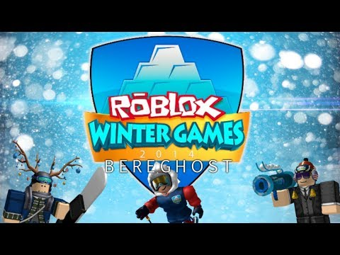 Roblox Winter Games 2014 Snowboarding Youtube