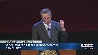 Governor John Kasich holds State of the State address in Sandusky